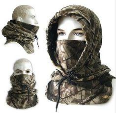 Tactical Balaclava Full Face Outdoor Sports Mask(Puissant) KEC