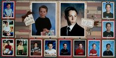 School years in review! 5 x 7 photos and your wallets.