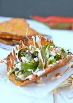Super easy 4-ingredients Healthy Taco Shells recipe made from carrots ! Make your own soft shell taco in a minute far better-tasting than store bought taco shells.