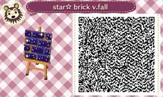 Lol 4got to post the other 2 xD Fall Star☆ brick pattern dark blue-violet Tile 3…
