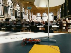 Sunny day at the library, I can already feel the end of the school year coming ✏