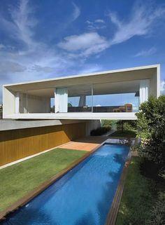 Marcio Kogan . Osler House . Brazil