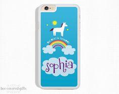 Unicorn iPhone cases: personalized unicorn iphone case | BeeCoveredGifts