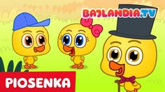Kaczuszki - piosenki dla dzieci - bajlandia.tv