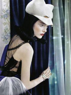 Imogen Morris Clarke by Emma Summerton forVogue Italia (June 2009).