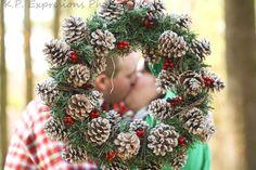 Wreath fun. Thanks Felicia!