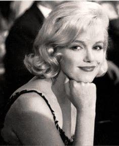 Marilyn Monroe at a dinner for Soviet Leader Nikita Khrushchev, held by 20th Century Fox, September 19th 1959.