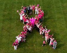 Human Pink Ribbon!