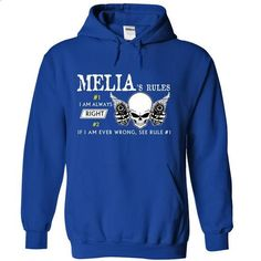 MELTON RULE\S Team - #shirt design #hoodie and jeans. ORDER HERE => https://www.sunfrog.com/Valentines/MELIA-RULES-Team-55968624-Guys.html?68278