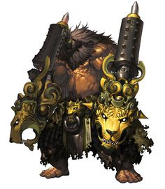 Monster Design - Pictures & Characters Art - Blade & Soul