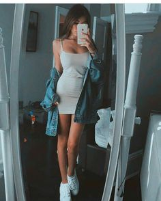 """Madison) """"my outfit for the party, anyone who wanna be my date?"""" I wink ((I may be asleep when the party starts but I'll try to stay up))"""
