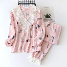 Cotton Nighties, Maternity Pajamas, Pajama Outfits, Nursing Mother, My Sewing Room, Fashion Design Sketches, Pyjamas, Nightwear, Pink Blue