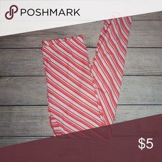 Cold Crush Leggings M soft and comfortable leggings that are striped. Cold Crush Pants Leggings