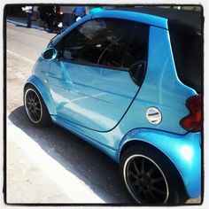Instagram photo by @Alvina Sot #smartcar #fortwo #tuning #iceblue