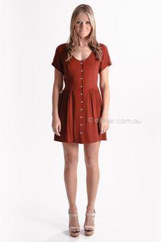 otto mode jensi dress - red