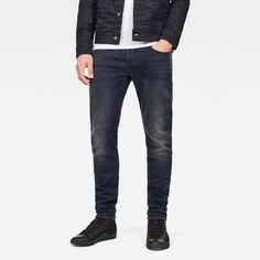 now on eboutic.ch - deep blue jeans slim for men Blue Jeans, Denim Jeans, G Star Raw, Deep Blue, Slim, Shorts, Pants, Jackets, Fashion