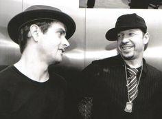 ❤Donnie Wahlberg & Joey McIntyre❤