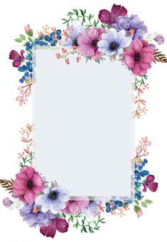 Purple Bouquet - Wedding Invitation Template (free in 2020 Flower Background Wallpaper, Flower Phone Wallpaper, Flower Backgrounds, Purple Flower Background, Framed Wallpaper, Purple Wedding Invitations, Wedding Invitation Templates, Floral Invitation, Wedding Invitation Background