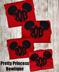 2013 Disney family shirts <3