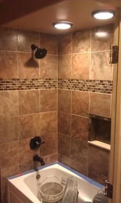 custom tile designs by gpb modern bathroom tile 382x640 Images Bathroom Tiling Ideas