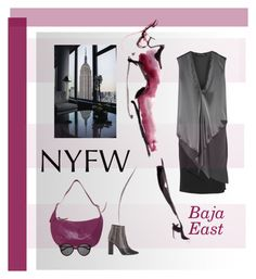 """""""NYFW"""" by constanceann ❤ liked on Polyvore featuring Baja East, IRO, DKNY, Yves Saint Laurent and NYFW"""