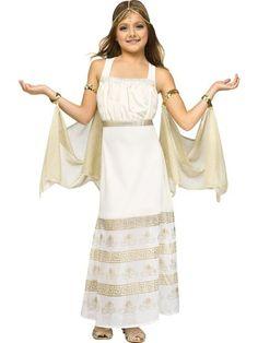 girls golden goddess costume wholesale greekroman costumes for girls - Helen Of Troy Halloween Costume