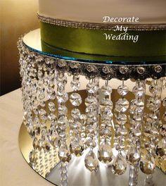 Wedding Decorations - Crystal Cake Stand FLIRTY ANA