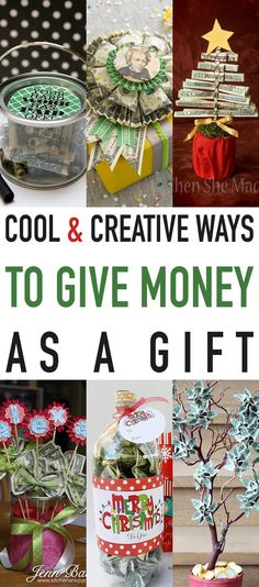 Some times giving money as a gift seems so very impersonal…right?  Well it doesn't have to be impersonal or boring with these Cool and Creative Ways To Give Money As A Gift!  So if it is money you want to give I do believe you are going to find some really awesome ideas how to …