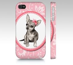 Chihuahua phone case for iPhone 4/ 4S 5/ 5S Samsung by MimoCadeaux