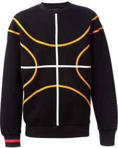 0dd8a0a6b04 Givenchy - Black Basketball Sweatshirt for Men - Lyst