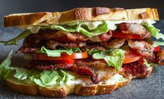 BLT plus more sandwich!