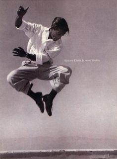 Brilliant energy: Sammy Davis Jr.