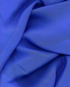 Chiffon -  Royal Blue - by the yard