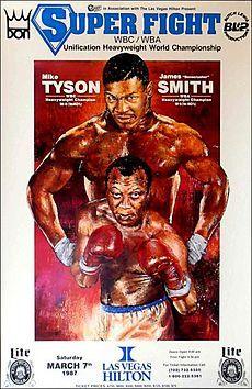 """Tyson vs Smith, 07.03.1987 ou """"você tem medo de Mike Tyson?"""""""