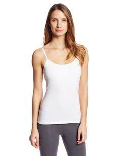 55fce03e71 PACT Women s White Shelf Bra Camisole (Click The Image To Buy It) Bra  Camisole