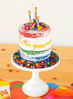 Rainbow Party by Lindi Haws of Love The Day