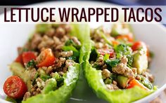 Lettuce Wrapped Tacos http://www.tina4mynt.jeunesseglobal.com/