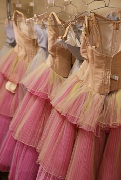 .backstage at the Nutcracker.