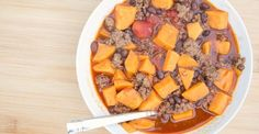 Black Bean & Sweet Potato Chili  #recipe #chili #beans #potatoes #food #mexican #cooking