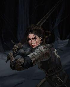 Fantasy Warrior, Fantasy Rpg, Medieval Fantasy, Fantasy Artwork, Warrior Girl, Warrior Women, Fantasy Queen, Fantasy Fighter, Fantasy Princess