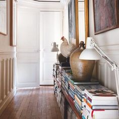 Articles about collection/small spaces on Apartment Therapy, a lifestyle and interior design community with tips and expert advice on creating happy, healthy homes for everyone. Living Spaces, Living Room, Home And Deco, Home Decor Inspiration, Decoration, Small Spaces, Sweet Home, New Homes, House Design