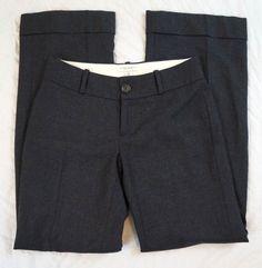 Banana Republic Jackson Fit Wool Stretch Womens Charcoal Pants Size 4 (S8#782) #BananaRepublic #DressPants Denim Branding, Talbots, Dress Pants, Bermuda Shorts, Banana Republic, Charcoal, Jackson, Pants For Women, Wool