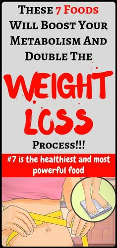 These foods will boost metabolism and double the weight loss process - amazing... #metabolismboost #NaturalRemediesForUti