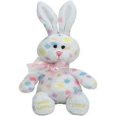 dcab5bde25d Easter Ty Beanie Baby QUACKINGTON Exclusively for Hallmark Gold Crown 2007  MWMT
