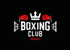 Logo Boxing Club Sassuolo on Behance Boxing Club, Boxing Girl, Boxing Boxing, Boxing Training, Boxing Gym Design, Typography Logo, Lettering, Thai Boxe, Boxing Shirts