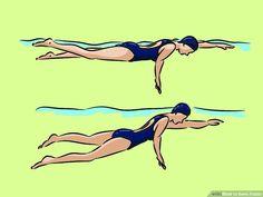 Swimming Pool Exercises, Swimming Drills, Pool Workout, Swimming Tips, Gym Workout Videos, Kids Swimming, Swimming Body, Swimming Videos, I Love Swimming
