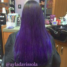 #purple people eater #ayladavis #ayla #willowglen #95125 #sanjose #408 #bayarea #salon #hairsalon #solasalon #solasalons #solasalonstudios #solasalonwillowglen #solasalonswillowglen #showmysola #hair #hairstyle #hairstylist #hairdresser #beautician #cosmetologist #haircolor #longhairdontcare #pravana #pravanavivids #violet #purplehair