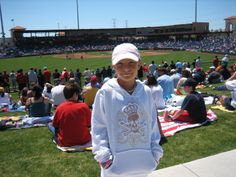 Jaime at Brighthouse Networks Stadium, Clearwater, Florida. Spring Training home of the Philadelphia Phillies... 2006