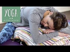 "▶ Yoga For When You Are SICK - Yoga With Adriene - YouTube My chant: ""God created my immune system. I am wonderfully made."" Needed this today"