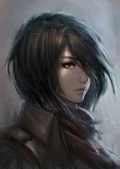 Mikasa Ackerman by popupantsu